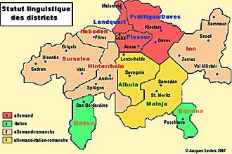 Cantoni Cartina Della Svizzera.Romanci I Nativi Europei Della Svizzera
