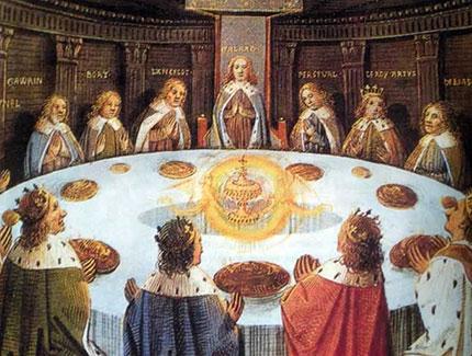 Natale nel segno del graal - Cavalieri della tavola rotonda ...