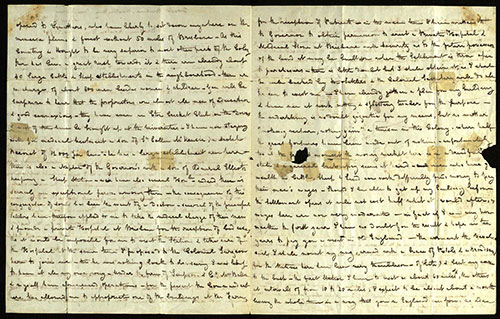 Lettera storica del dottor Stephen Simpson inviata in Inghilterra dalla colonia Moreton Bayr