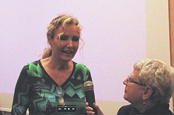 Licia Colò intervistata da Ivana Pizzorni