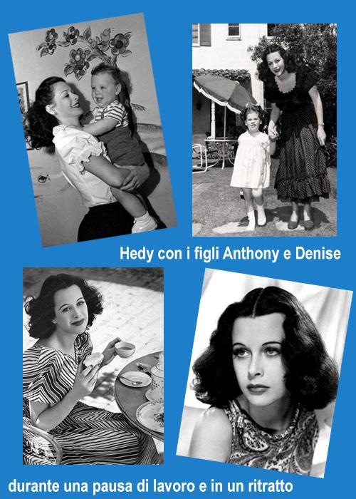 Un personaggio dello Scorpione: Hedy Lamarr