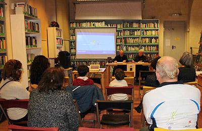 La presentazione del libro alla Biblioteca Comunale Casa del Parco del  XIV Municipio di Roma