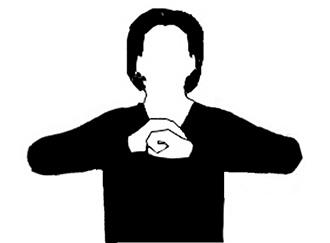 """L'emblematico gesto del """"No-tah"""" che manifesta il potere del Vuoto nell'unione di vuoto e pieno"""