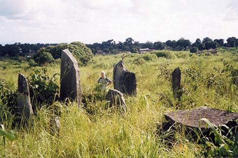 Il sito funerario di Tazunu Dokoko