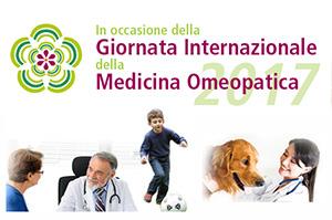 Consulenza gratuita negli ambulatori di medici e veterinari nella GIORNATA INTERNAZIONALE DELLA MEDICINA OMEOPATICA 2017