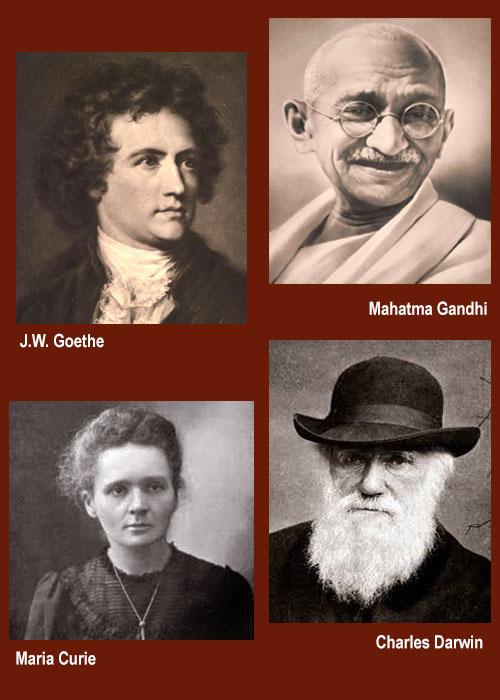 Omeopatia e grandi personaggi