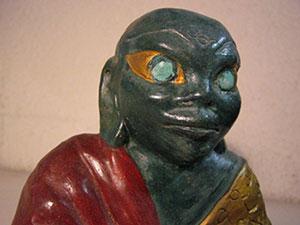 Antica divinità induista dall'aspetto sauroide