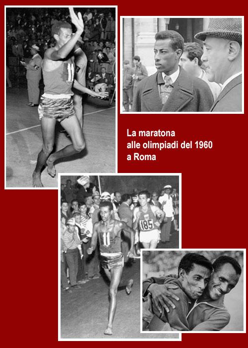 Un personaggio del Leone: Abebe Bikila