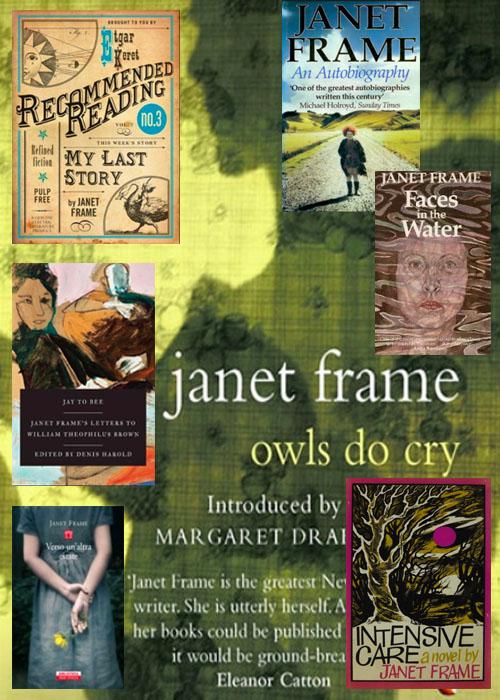 Un personaggio della Vergine: Janet Frame