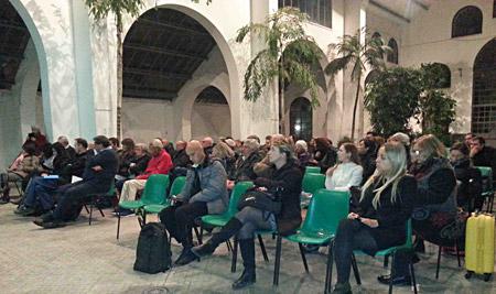 Il pubblico presente al dibattito