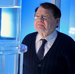 Luc Montagnier, medico e biologo e virologo a cui è stato assegnato nel 2008 il nobel per la medicina