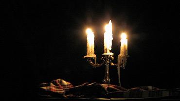 Il Siv'nul, candeliere a tre braccia della tradizione di Fetonte