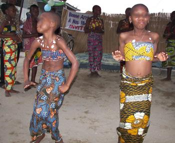 I bambini del Benin assicurano la buona conservazione del nostro Paese