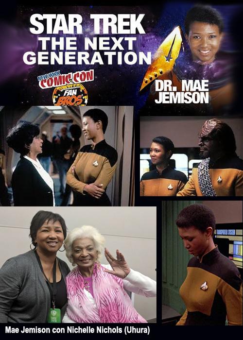 Un personaggio della Bilancia: Mae C. Jemison
