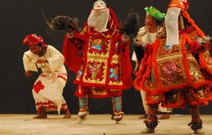 Dimostrazione di danza Gelede