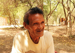 Gabide Etacore, an Ayoreo-Totobiegosode leader from the community of Arocojnadi. 2019 (Image: X. Clarke/Survival International)