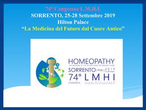 il 74° Congresso Mondiale Omeopatico della LMHI