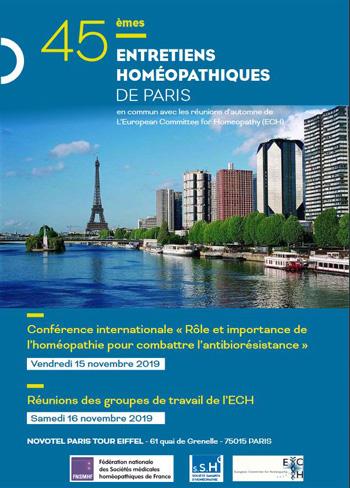 Incontro internazionale della European Committee for Homeopathy (ECH),