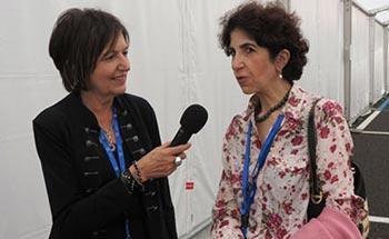Fabiola Gianotti interviewée par Rosalba Nattero