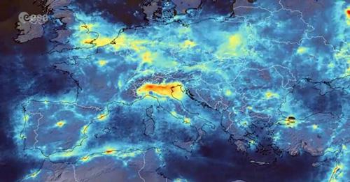 L'ESA (European Space Agency) ha rilevato tramite il satellite Copernicus Sentinel-5P la drastica riduzione dello smog ed in particolare del diossido di azoto sui grandi centri urbani, soprattutto sulla Pianura Padana