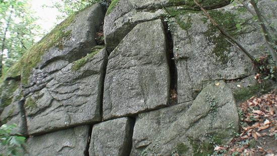 Le mura di Rama rinvenute nel 2007 in Val di Susa, Piemonte