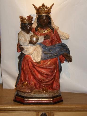 La Madonna del Becetto, presso Sampeyre in Val Varaita