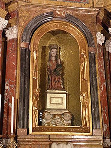 La Vergine di Crea, nel Cuneese
