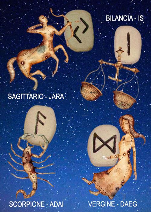 Il segreto delle rune e lo Zodiaco
