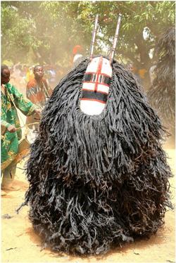 Maschera animista, Burkina Faso