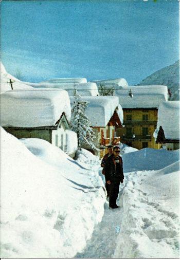 Una cartolina di Balme nel 1972
