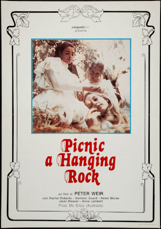 "Il film ""Picnic a Hanging Rock"" del regista australiano Peter Weir (1975)"