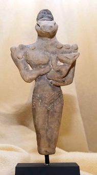 Statuetta raffigurante la Dea Nammu, ritrovata nel 1919 ad Ur