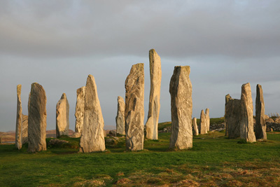 Lo Stone Circle di Callanish in Scozia, uno dei pochi ancora intatti